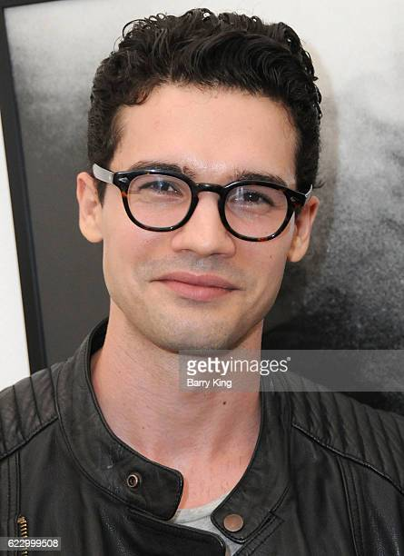Actor Steven Strait attends 'Hindsight is 30/40 A Group Photographer Exhibition' at The Salon at Automatic Sweat on November 12 2016 in Los Angeles...
