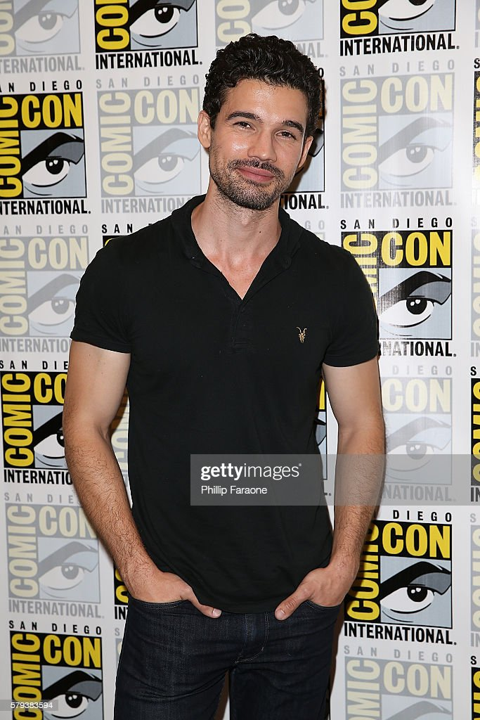 Actor Steven Strait attends 'The Expanse' press line during Comic-Con International 2016 on July 23, 2016 in San Diego, California.