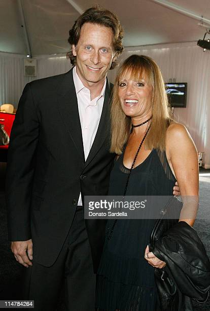 Actor Steven Weber and Julia Sorkin attend the Opening Night Preview Party for the Los Angeles Antiques Show on April 23 2008 in Santa Monica...