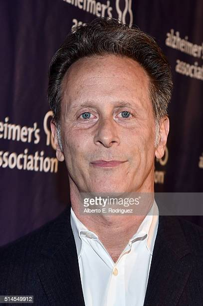 Actor Steven Weber attends the 24th and final 'A Night at Sardi's' to benefit the Alzheimer's Association at The Beverly Hilton Hotel on March 9 2016...