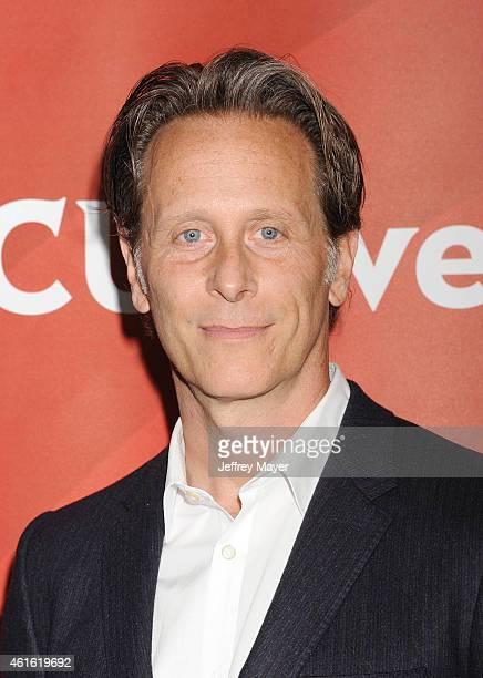 Actor Steven Weber attends the NBCUniversal 2015 Press Tour at the Langham Huntington Hotel on January 15 2015 in Pasadena California