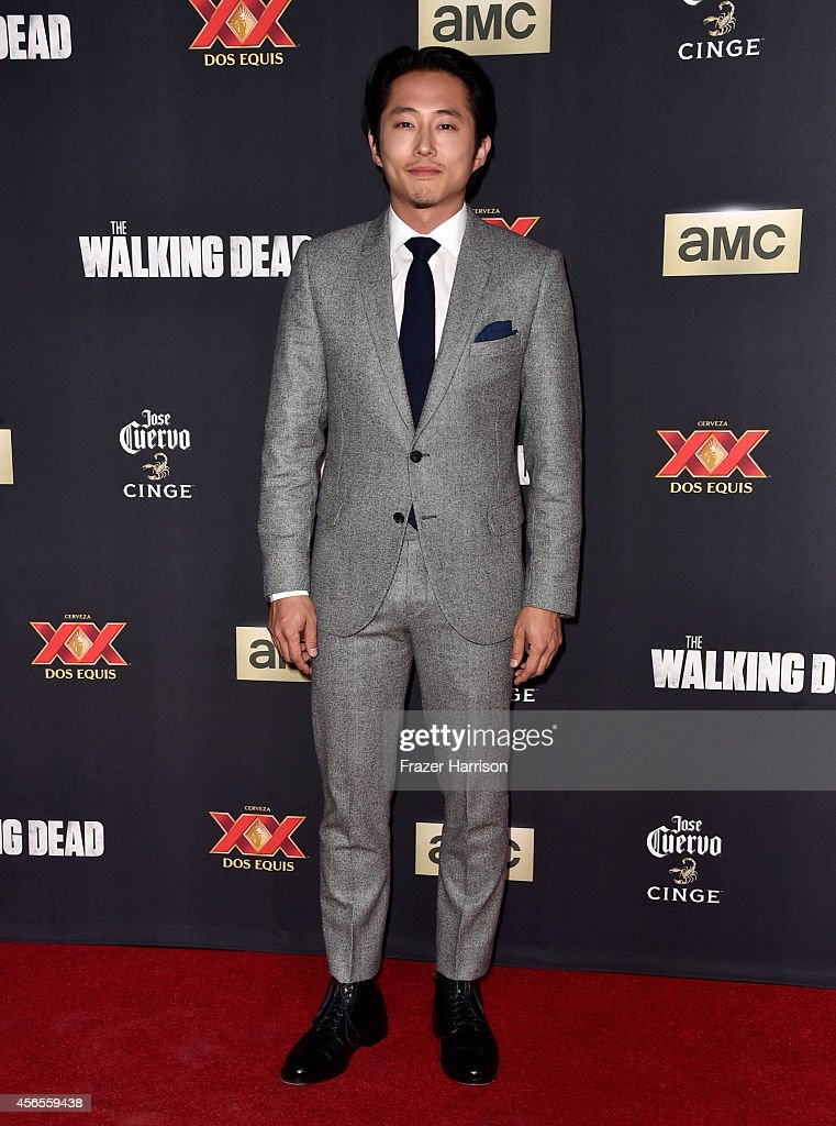 "AMC Celebrates The Season 5 Premiere Of ""The Walking Dead"" - Arrivals : News Photo"