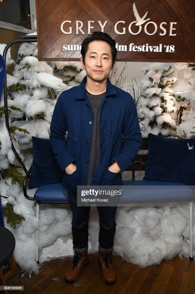 Actor Steven Yeun attends the 'Sorry to Bother You' After Party at Sundance Film Festival 2018 at The Grey Goose Blue Door on January 20, 2018 in Park City, Utah.