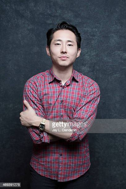 Actor Steven Yeun is photographed for Los Angeles Times on January 18 2014 in Park City Utah PUBLISHED IMAGE CREDIT MUST READ Jay L Clendenin/Los...