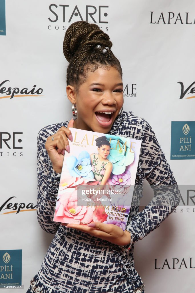 LaPalme Magazine Spring Issue Launch With Cover Star Storm Reid