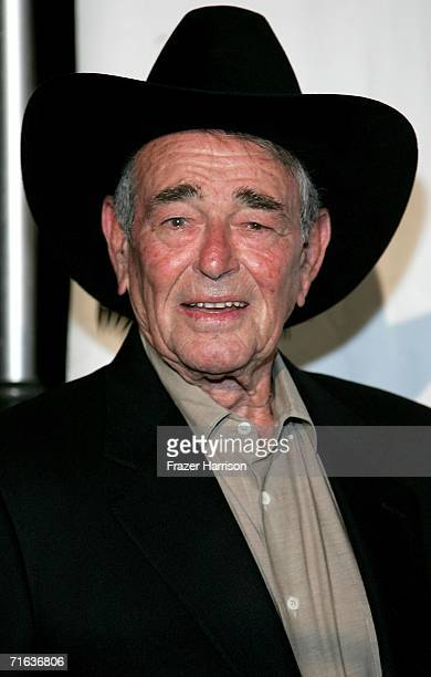 Actor Stuart Whitman attends the Golden Boot Awards held at the Beverly Hilton Hotel on August 12 2006 in Beverly Hills California