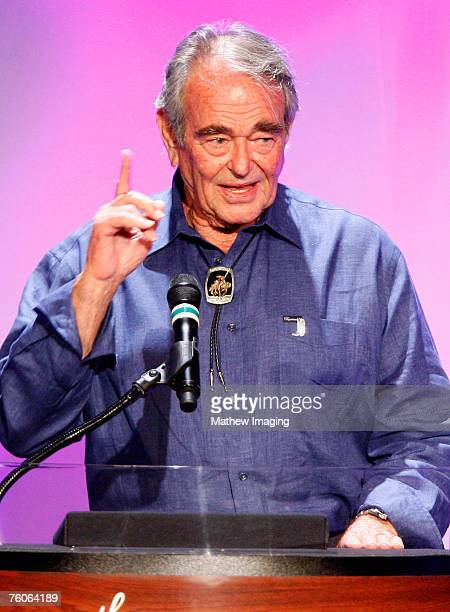 LOS ANGELES CA AUGUST 11 Actor Stuart Whitman during the The 25th Annual Golden Boot Awards at the Beverly Hilton on August 11 2007 in Beverly Hills...