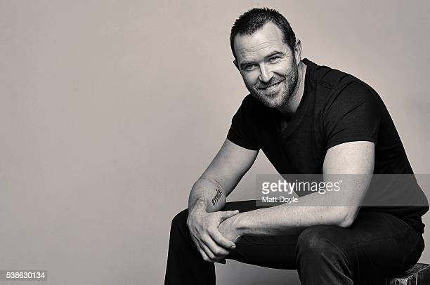 Actor Sullivan Stapleton is photographed for Back Stage on April 13 2016 in New York City PUBLISHED IMAGE