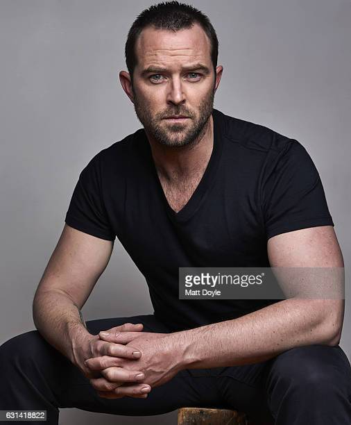 Actor Sullivan Stapleton is photographed for Back Stage on April 13 2016 in New York City