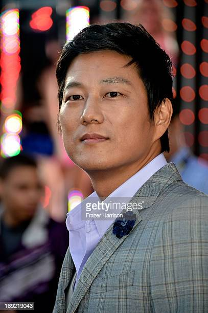 Actor Sung Kang arrives at the Premiere Of Universal Pictures' Fast Furious 6 on May 21 2013 in Universal City California