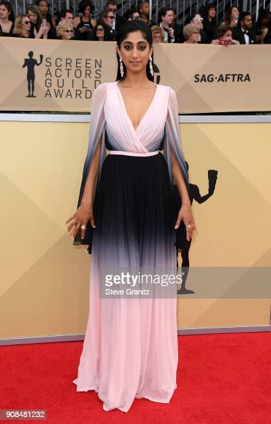 Actor Sunita Mani attends the 24th Annual Screen ActorsGuild Awards at The Shrine Auditorium on January 21 2018 in Los Angeles California