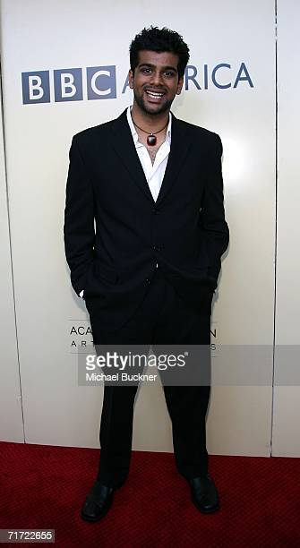 Actor Sunkrish Bala arrives at the BAFTA/LAAcademy of Television Arts and Sciences Tea Party at the Century Hyatt on August 26 2006 in Century City...