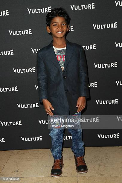 Actor Sunny Pawar arrives at the Vulture Awards Season Party at the Sunset Tower Hotel on December 8 2016 in West Hollywood California