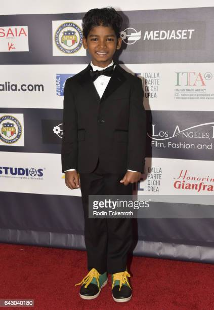 Actor Sunny Pawar attends 12th Edition Of The Los Angeles Italia Film Fashion And Art Fest at TCL Chinese 6 Theatres on February 19 2017 in Hollywood...