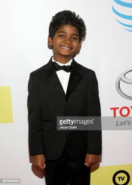 Actor Sunny Pawar attends the 48th NAACP Image Awards at Pasadena Civic Auditorium on February 11 2017 in Pasadena California