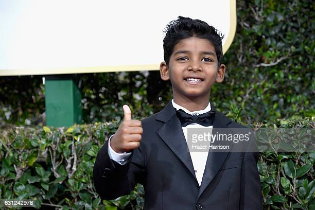 Actor Sunny Pawar attends the 74th Annual Golden Globe Awards at The Beverly Hilton Hotel on January 8 2017 in Beverly Hills California