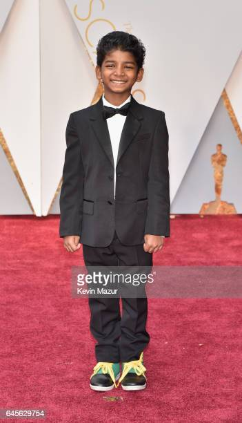 Actor Sunny Pawar attends the 89th Annual Academy Awards at Hollywood Highland Center on February 26 2017 in Hollywood California