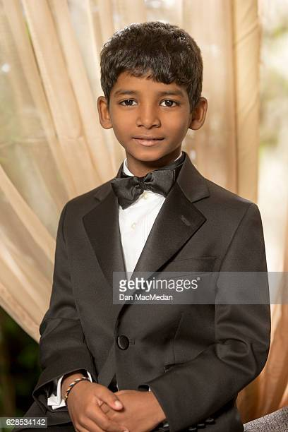 Actor Sunny Pawar is photographed for USA Today on November 12 2016 in Los Angeles California