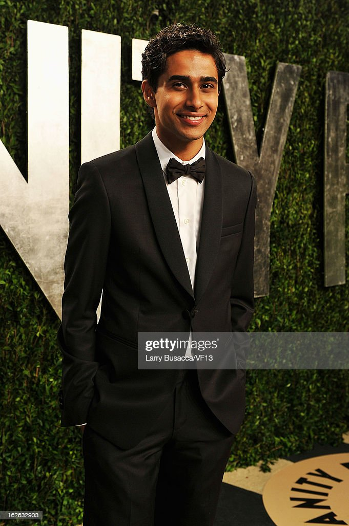 Actor Suraj Sharma arrives for the 2013 Vanity Fair Oscar Party hosted by Graydon Carter at Sunset Tower on February 24, 2013 in West Hollywood, California.