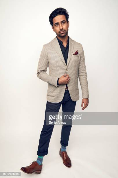 Actor Suraj Sharma of CBS's 'God Friended Me' poses for a portrait during the 2018 Summer Television Critics Association Press Tour at The Beverly...