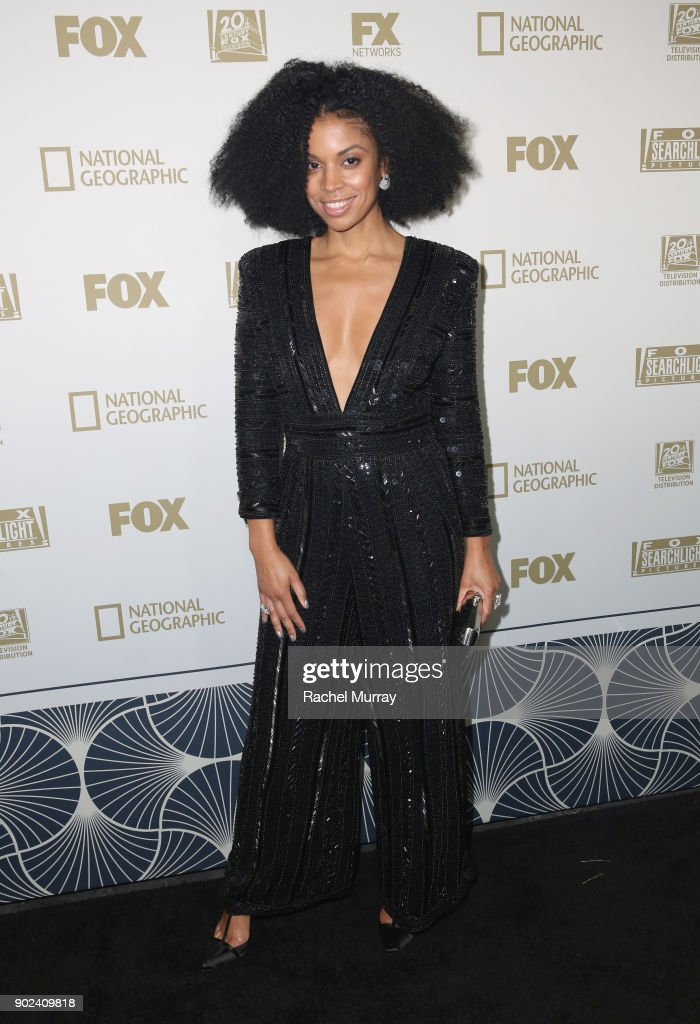 Actor Susan Kelechi Watson attends FOX, FX and Hulu 2018 Golden Globe Awards After Party at The Beverly Hilton Hotel on January 7, 2018 in Beverly Hills, California.