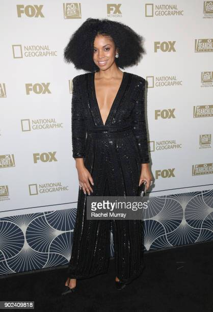 Actor Susan Kelechi Watson attends FOX FX and Hulu 2018 Golden Globe Awards After Party at The Beverly Hilton Hotel on January 7 2018 in Beverly...