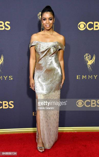 Actor Susan Kelechi Watson attends the 69th Annual Primetime Emmy Awards at Microsoft Theater on September 17 2017 in Los Angeles California