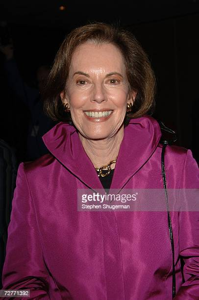 Actor Susan Kohner attends the tribute to Mexican actress Lupita Tovar at the Academy of Motion Picture Arts and Sciences on December 7 2006 in...