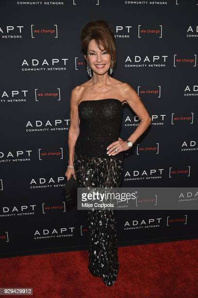 Actor Susan Lucci attends the Adapt Leadership Awards Gala 2018 at Cipriani 42nd Street on March 8 2018 in New York City