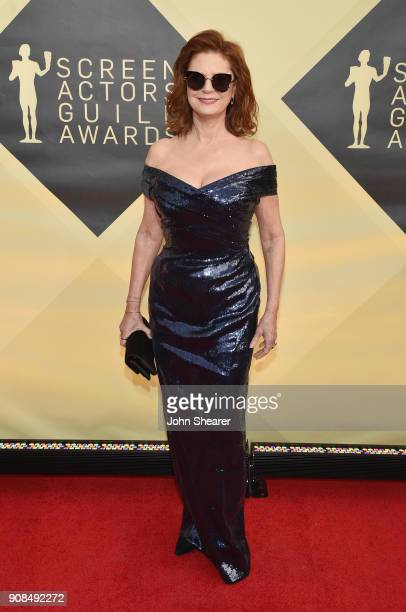 Actor Susan Sarandon attends the 24th Annual Screen Actors Guild Awards at The Shrine Auditorium on January 21 2018 in Los Angeles California