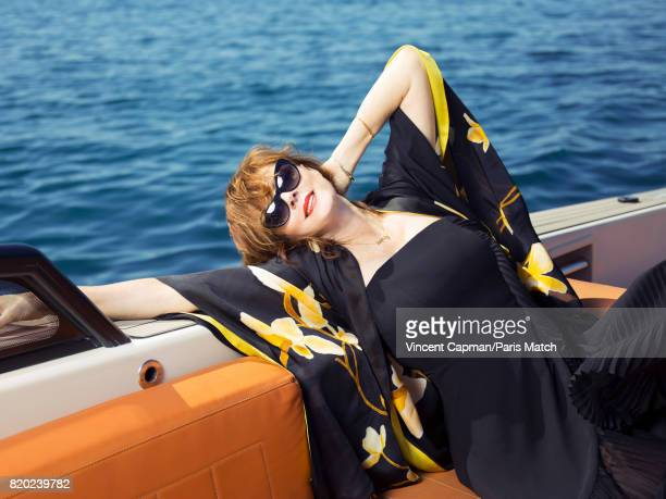 Actor Susan Sarandon is photographed for Paris Match on April 28 2017 in Cannes France