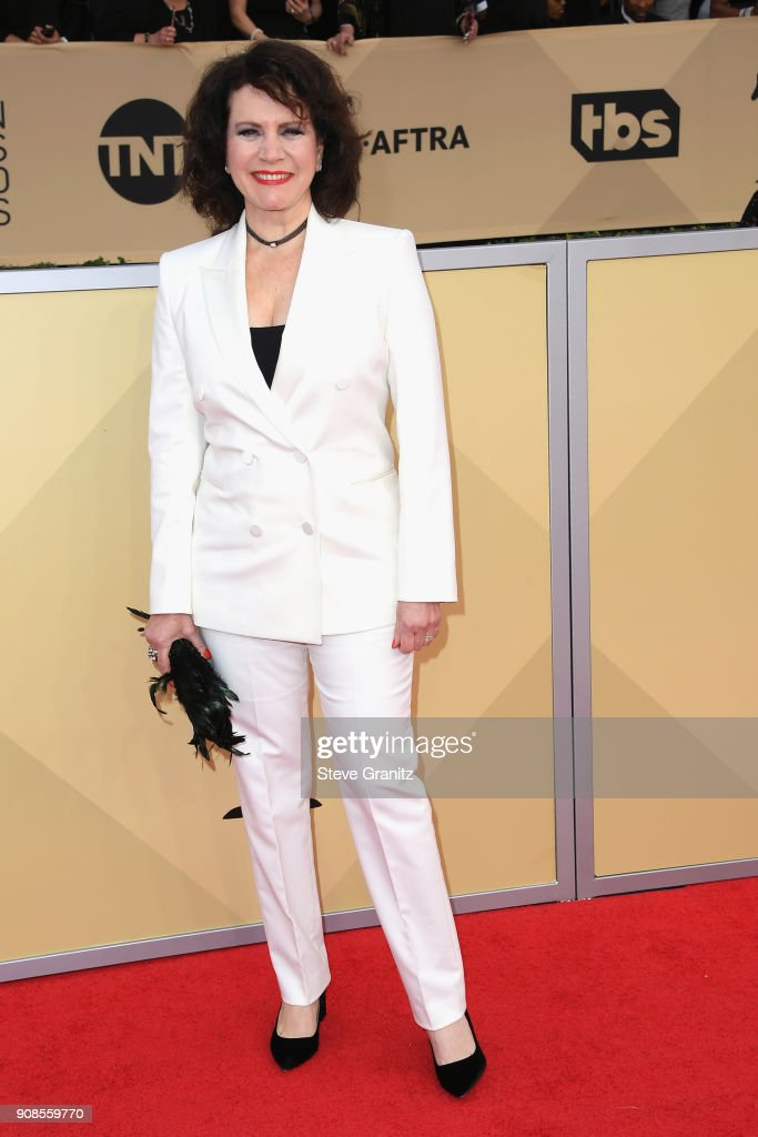 Actor Susie Essman attends the 24th Annual Screen Actors Guild Awards at The Shrine Auditorium on January 21, 2018 in Los Angeles, California.