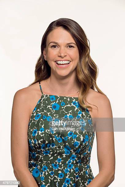 Actor Sutton Foster is photographed for The Wrap on June 18 2015 in Los Angeles California Published Image
