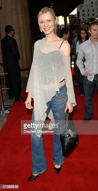 """Actor Suzanna Urszuly attends the premiere of TriStar Pictures' """"Silent Hill"""" at the Egyptian Theatre on April 20, 2006 in Hollywood, California."""