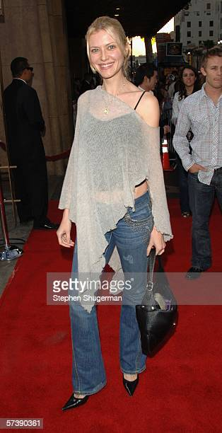 Actor Suzanna Urszuly attends the premiere of TriStar Pictures' Silent Hill at the Egyptian Theatre on April 20 2006 in Hollywood California