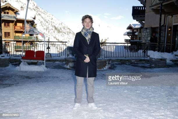 Actor Swann Arlaud attends 'Les Arcs European Film Festival' on December 20 2017 in Les Arcs France