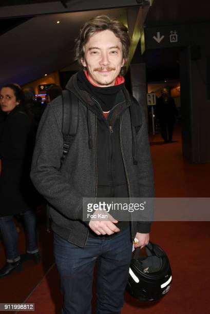 Actor Swann Arlaud attends the 'Gaspard va au mariage' premiere at UGC Cine Cite des Halles on January 29 2018 in Paris France
