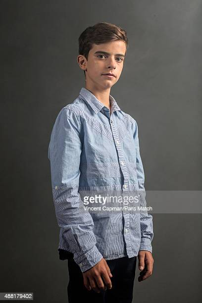 Actor Swann Nambotin is photographed for Paris Match on August 31, 2015 in Paris, France.