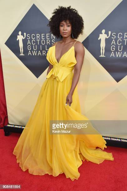 Actor Sydelle Noel attends the 24th Annual Screen Actors Guild Awards at The Shrine Auditorium on January 21 2018 in Los Angeles California 27522_007