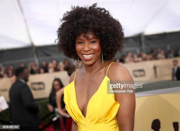Actor Sydelle Noel attends the 24th Annual Screen Actors Guild Awards at The Shrine Auditorium on January 21 2018 in Los Angeles California 27522_010