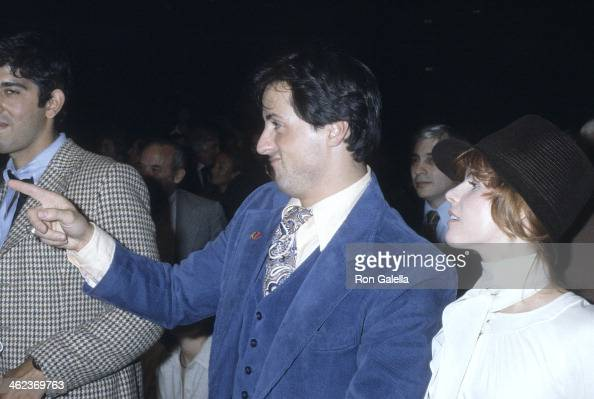 Actor Sylvester Stallone and wife Sasha Czack attend the ...