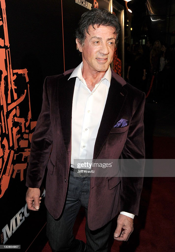 Actor Sylvester Stallone arrives at the Los Angeles premiere