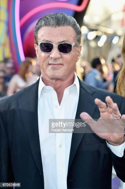 Actor Sylvester Stallone at the premiere of Disney and Marvel's 'Guardians Of The Galaxy Vol 2' at Dolby Theatre on April 19 2017 in Hollywood...