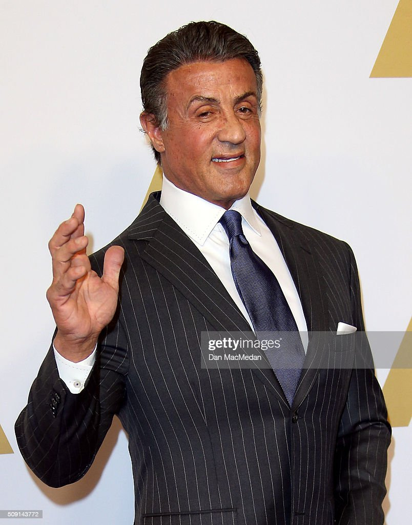 Actor Sylvester Stallone attends the 88th Annual Academy Awards Nominee Luncheon in Beverly Hills, California.