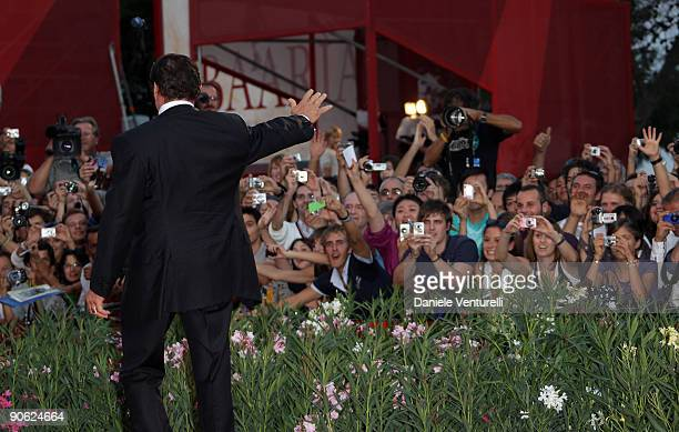 Actor Sylvester Stallone attends the Closing Ceremony at the Sala Grande during the 66th Venice Film Festival on September 12 2009 in Venice Italy