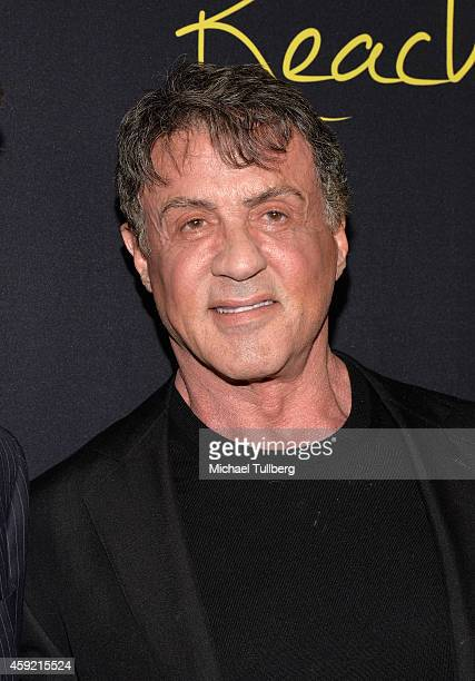 Actor Sylvester Stallone attends the premiere of Millennium Entertainment's new film 'Reach Me' at Chinese 6 Theater Hollywood on November 18 2014 in...