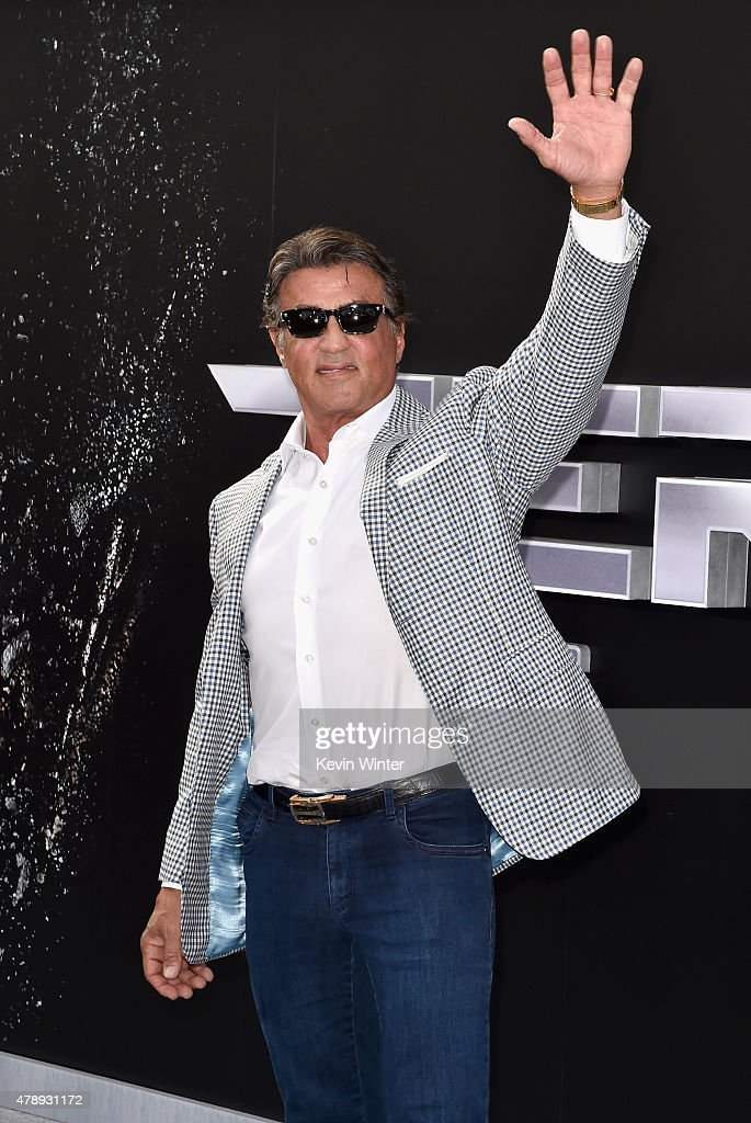 Actor Sylvester Stallone attends the LA Premiere of Paramount Pictures' 'Terminator Genisys' at the Dolby Theatre on June 28, 2015 in Hollywood, California.
