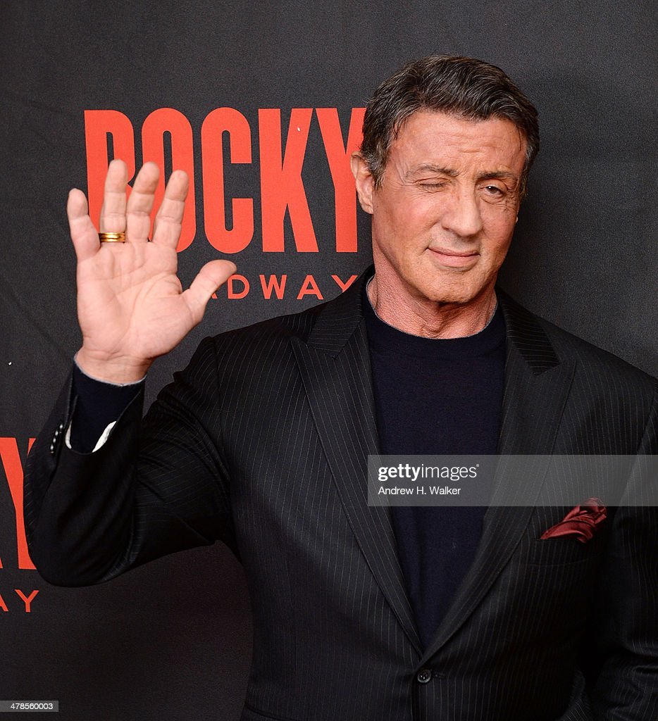 'Rocky' Broadway Opening Night - After Party : News Photo