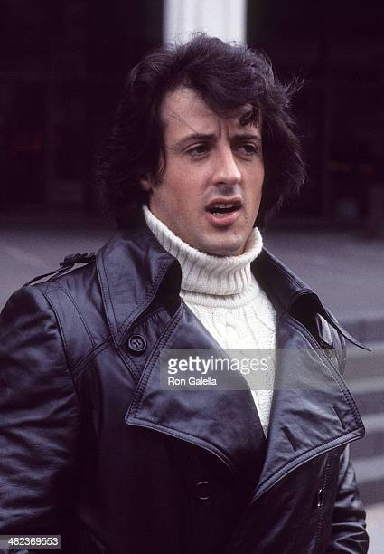 Actor Sylvester Stallone attends the 'Rocky' Press Conference and Special Screening on November 20 1976 at the Paramount Theatre in New York City