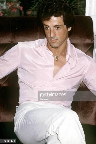 Actor Sylvester Stallone circa 1972